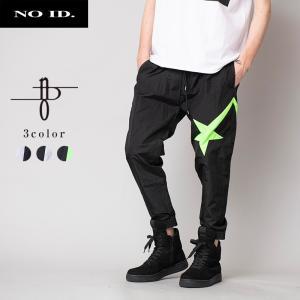NO ID. BLACK ノーアイディー ブラック ツースター トラックパンツ メンズ 星 パンツ ボトム|gios-shop