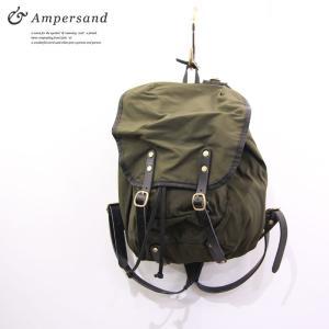 Ampersand アンパサンド ナイロン バックパック|gios-shop