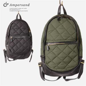 Ampersand アンパサンド キルティング ポケット リュックバッグ|gios-shop