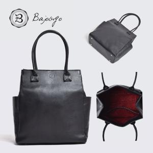 BajoLugo バジョルゴ ミニトート シボ ブラック バッグ 鞄|gios-shop