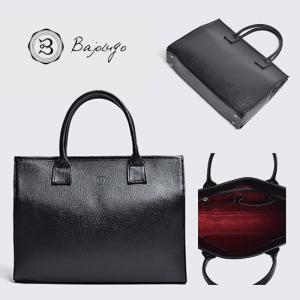 BajoLugo バジョルゴ トートバッグ シボ ブラック バッグ 鞄|gios-shop