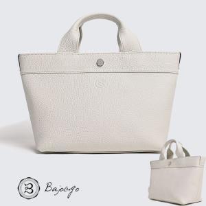 【数量限定商品】 BajoLugo バジョルゴ チビトート シボ ホワイト バッグ 鞄|gios-shop