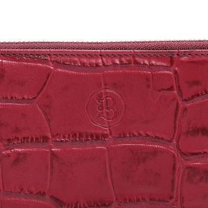 BajoLugo バジョルゴ 財布 ウォレット クラッチ バッグ 鞄 カバン クロコダイル メンズ ワイン|gios-shop|04