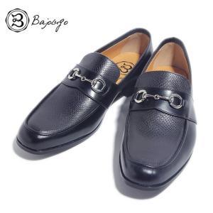 BajoLugo バジョルゴ ローファー デッキ ドライビング シューズ パイソン ブラック メンズ|gios-shop