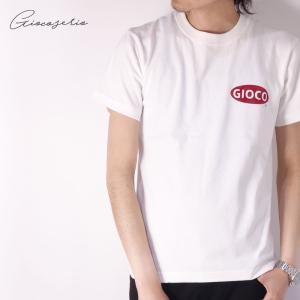 Gioco serio ワンポイントロゴ 半袖 Tシャツ XS S M L LL 3L 4L メンズ|gios-shop