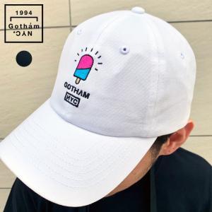 Gotham NYC ゴッサムニューヨークシティー PSYCHOCANDY CAP キャップ 帽子 メンズ 黒 白|gios-shop