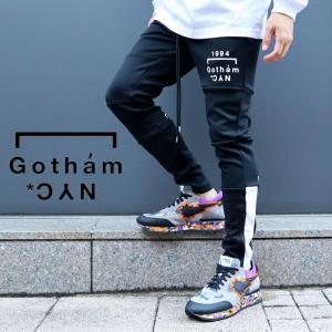 GOTHAM NYC ゴッサム エヌワイシー スキニー ジャージパンツ M L XL メンズ|gios-shop