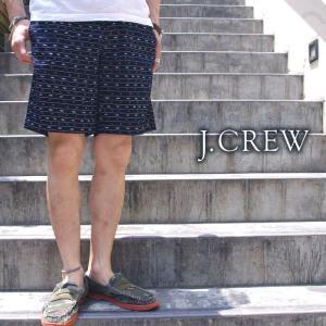 J.CREW ジェイクルー ショートパンツ ハーフパンツ カラーパンツ 総柄 NAVY ネイビー メンズ|gios-shop