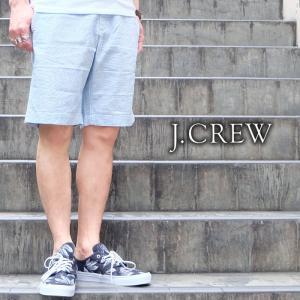 J.CREW Jクルー ジェイクルー ショーツ ショートパンツ ストライプ ボーダー マリン メンズ|gios-shop