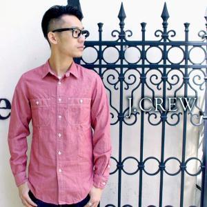 J.CREW Jクルー ジェイクルー 長袖シャツ シャンブレーシャツ カラーシャツ|gios-shop
