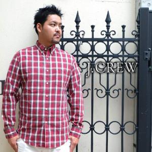 J.CREW Jクルー ジェイクルー シャツ 長袖 チェック メンズ|gios-shop