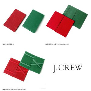 J.CREW Jクルー カードケース パスケース 定期入 Pass Card Case 2COLOR|gios-shop|03