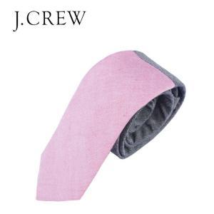 J.CREW ジェイクルー Jクルー ネクタイ タイ メンズ ユニセックス コットンタイ 2トーン トラッド アイビー|gios-shop
