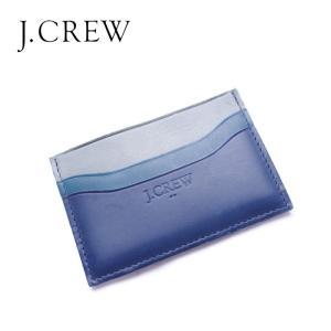 J.CREW Jクルー ジェイクルー カードケース パスケース 定期入 レザー 革|gios-shop