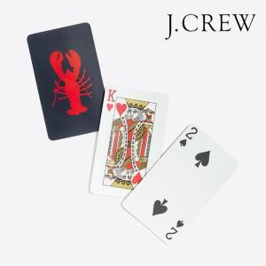 J.CREW Jクルー ジェイクルー カード トランプ プレイング カード ゲーム プレゼント ギフト ロブスター ザリガニ アメカジ|gios-shop