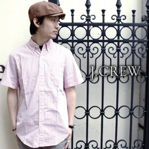 J.CREW ジェイクルー シャツ 半袖シャツ チェックシャツ ギンガムチェック ボタンダウン|gios-shop
