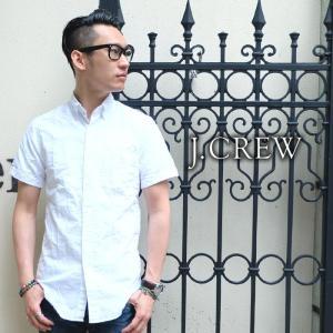 J.CREW Jクルー ジェイクルー 半袖 シャツ ホワイト メンズ|gios-shop