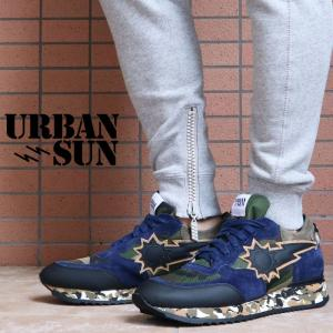 URBAN SUN アーバンサン スニーカー jean ja 031 日本限定モデル 国内正規品 メンズ|gios-shop