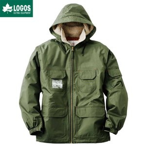 LOGOS ロゴス 防水防寒ジャケット フォード メンズ カーキ M