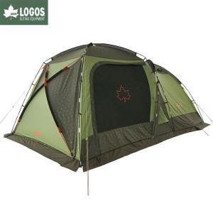 LOGOS ロゴス テント neos PANELスクリーンドゥーブル XL-BJ ツールームテント キャンプ 虫対策の画像