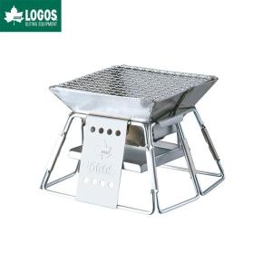 LOGOS ロゴス 焚き火台 バーベキューグリル ピラミッドグリル コンパクト