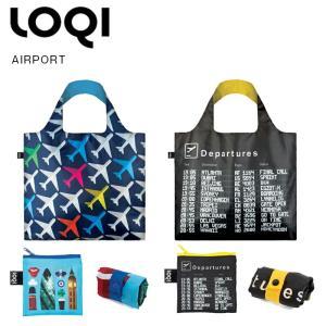 LOQI ローキー airport エアポート エコバッグ 折りたたみ コンパクト