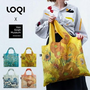 LOQI ローキー Van Gogh 2019 ゴッホ エコバッグ 折りたたみ コンパクト