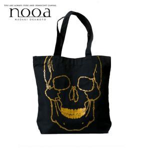 nooa ヌーア メンズ TOTE トート BAG 鞄 ブラック SKULL バブル スカル nooa-o-0010 gios-shop