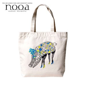 nooa ヌーア メンズ TOTE トート BAG 鞄 アイボリー Pig world バブル ピッグ nooa-o-0020 gios-shop