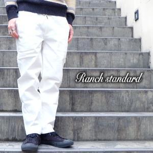 Ranch Standard ランチ スタンダード ワーク パンツ ストレッチ ペインター メンズ ホワイト gios-shop
