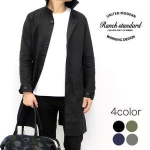 Ranch Standard ランチ スタンダード シャツ スプリング コート ジャケット メンズ ブラック ネイビー グレー オリーブ|gios-shop