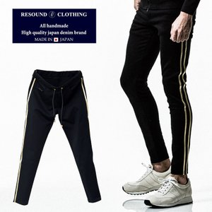 RESOUND CLOTHING リサウンドクロージング BLINDライン スーパータイトテーパードパンツラグジュアリーライン メンズ|gios-shop