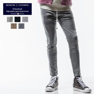 RESOUND CLOTHING リサウンドクロージング ライン スーパータイト テーパード パンツ メンズ|gios-shop