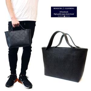 RESOUND CLOTHING リサウンドクロージング RCモノグラムミニトートバッグ vermilion ヴァーミリオン コラボ 鞄 メンズ レディース|gios-shop