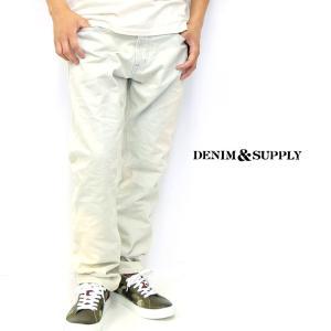 デニム&サプライ デニム パンツ  インディゴ 薄い メンズ|gios-shop