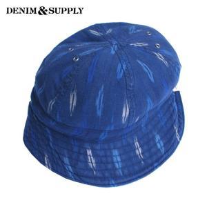 DENIM&SUPPLYデニム&サプライ D&S 帽子 ハット バケットハット 総柄 メンズ デニム&サプライ D&S 帽子 ハット バケットハット 総柄 メンズ|gios-shop