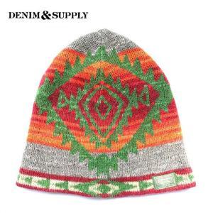 デニムアンドサプライ デニム&サプライ Denim & Supply ニットワッチ ニットキャップ ネイティブ ネイティヴ|gios-shop