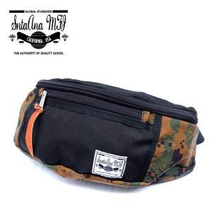 Santa Ana MFG サンタアナマニュファクチャリング カバン 鞄 バッグ ウエスト ヒップ ショルダー メンズ ブラック カモ 迷彩 gios-shop