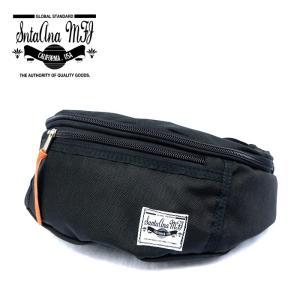 Santa Ana MFG サンタアナマニュファクチャリング カバン 鞄 バッグ ウエスト ヒップ ショルダー メンズ ブラック gios-shop