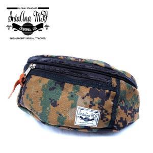Santa Ana MFG サンタアナマニュファクチャリング カバン 鞄 バッグ ウエスト ヒップ ショルダー メンズ カモ 迷彩 gios-shop