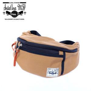 Santa Ana MFG サンタアナマニュファクチャリング カバン 鞄 バッグ ウエスト ヒップ ショルダー メンズ ベージュ コヨーテ gios-shop