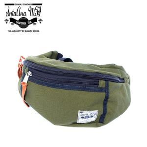 Santa Ana MFG サンタアナマニュファクチャリング カバン 鞄 バッグ ウエスト ヒップ ショルダー メンズ オリーブ グリーン gios-shop