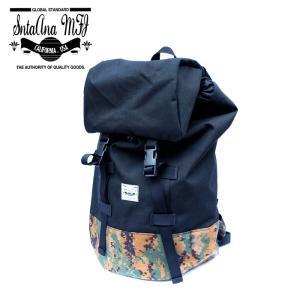 Santa Ana MFG サンタアナマニュファクチャリング カバン 鞄 バッグ バックパック リュック メンズ ブラックカモフラ 迷彩|gios-shop