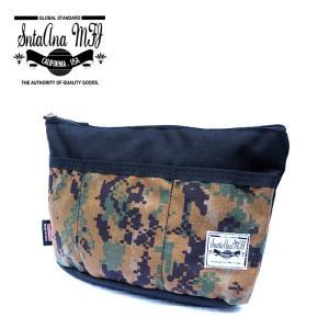Santa Ana MFG サンタアナマニュファクチャリング カバン 鞄 バッグ ショルダー クラッチ セカンド メンズ ブラック カモ 迷彩 gios-shop