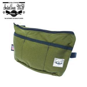 Santa Ana MFG サンタアナマニュファクチャリング カバン 鞄 バッグ ショルダー クラッチ セカンド メンズ オリーブ グリーン gios-shop