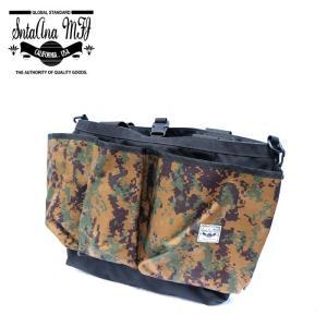 Santa Ana MFG サンタアナマニュファクチャリング カバン 鞄 バッグ トート ショルダー メンズ ブラック カモ 迷彩 gios-shop