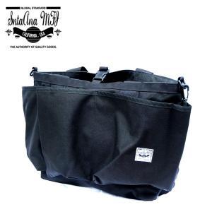 Santa Ana MFG サンタアナマニュファクチャリング カバン 鞄 バッグ トート ショルダー メンズ ブラック gios-shop