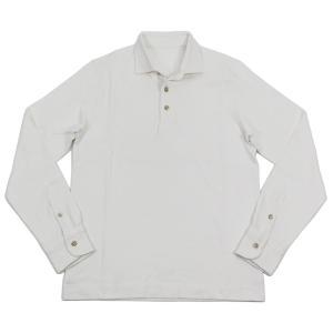 Circolo1901(チルコロ) ロングスリーブ ポロシャツ【ホワイト】 giottostile