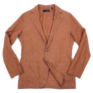 LARDINI(ラルディーニ)19SS リネン シャツジャケット【テラコッタ】|giottostile