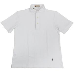 GUY ROVER(ギローバー)19SS カッタウェイ パイル ポロシャツ【ホワイト】 giottostile